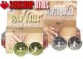 Bolas vaginales gold/ Silver